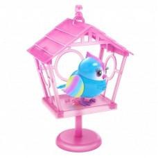 Интерактивная игрушка Moose говорливая птичка Рейбоу Твитс со скворечником (26102)