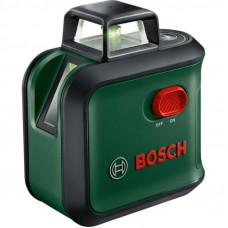 Лазерный нивелир BOSCH AdvancedLevel 360 Set, 24м, штатив TT150, зеленый луч, накл (0.603.663.B04)