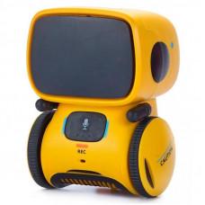 Интерактивная игрушка AT-Robot робот с голосовым управлением желтый (AT001-03)