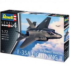 """Сборная модель Revell Истребитель-бомбаридовщик F-35 """"Молния II"""". Масштаб 1:72 (RVL-03868)"""