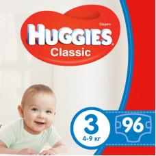 Подгузник Huggies Classic 3 Giga 96 шт (5029053547282)
