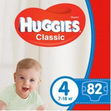 Подгузник Huggies Classic 4 Giga 82 шт (5029053547299)