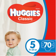 Подгузник Huggies Classic 5 Giga 70 шт (5029053547305)