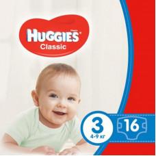 Подгузник Huggies Classic 3 Small 16 шт (5029053543086)
