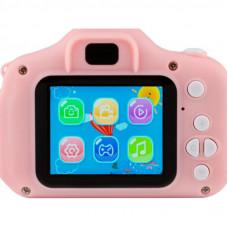 Цифровой фотоаппарат ATRIX TIKTOKER 6 20MP 1080p pink (cdfatxtt6p)