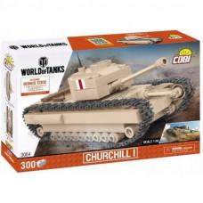 Конструктор Cobi Танк Черчилль, 300 деталей (COBI-3064)