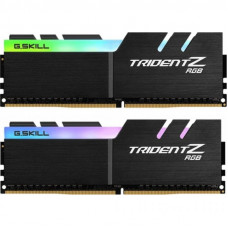 Модуль памяти для компьютера DDR 64GB (2x32GB) 3200 MHz Trident Z RGB G.Skill (F4-3200C14D-64GTZR)
